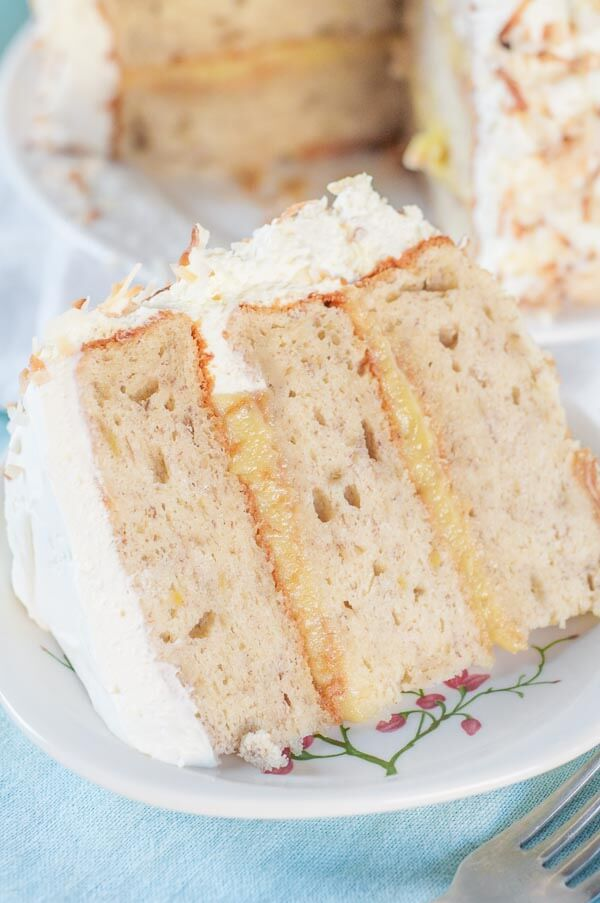 Banana whip cream cake recipe
